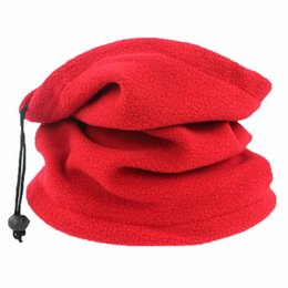 $enCountryForm.capitalKeyWord Australia - 1PC 3in1 Unisex Beanie Hats Ski Snood Scarf Women Men Thermal Fleece Scarf Snood Neck Warmer Face Mask Winter Spring