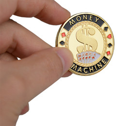 $enCountryForm.capitalKeyWord UK - FreeHot Quality Poker Card Guard Protector Metal Token Coin with Plastic Cover Texas Poker Chip Set Casino Pokerstars MONEY MACHINE