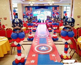 $enCountryForm.capitalKeyWord Australia - 80*45cm Super hero alliance Foil balloons Avengers Captain America Steel ball chivalry birthday party decorations kids toys christmas gift