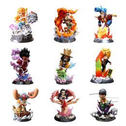 $enCountryForm.capitalKeyWord Australia - Anime One Piece GK Gear Fourth Luffy Zoro Nami Sanji Robin Chopper PVC Action Figure Collection Models Toys