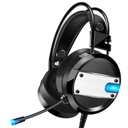 $enCountryForm.capitalKeyWord Australia - wholesale OEM quality 4D subwoofer Stereo Surround Sound computer PC game headphone gaming headset manufacturers with Mic