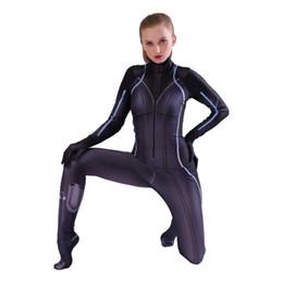 Halloween cosplay costume 3D digital print tights Zentai anime Natalia Alianovna Romanova   Natasha Romanoff Cosplay tights jumpsuit on Sale
