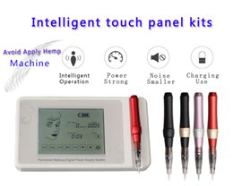 tattoo panel NZ - Digital Smart Touch Permanent Makeup Box Mahine Panel Control Rotating Tattoo Gun Kit for tools such as body and eyebrows