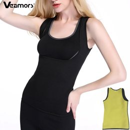 $enCountryForm.capitalKeyWord Australia - VEAMORS Women Slimming Yoga Shirt Sport Tank Tops Sleeveless Fitness Running T Shirt For Fat Burning Vest Corset Body Shapers