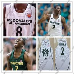 State Player NZ - Cheap custom #2 Jaren Jackson jr Michigan State Spartans basketball Jerseys Stitched custom player national league basketball jersey XS-5XL