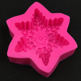 $enCountryForm.capitalKeyWord Australia - Snow Flake Shape Chocolate Candy Jllo Silicone Mould Cartoon Figre cake Tools Soap Mold Sugar Craft Cake Decoration