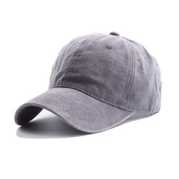 a182085701183b Unisex Washed Baseball Caps for Women Men Adjustable Solid Vintage  Distressed Cotton Dad Hat Cap Unconstructed Plain Sun Visor