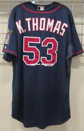 $enCountryForm.capitalKeyWord Australia - Cheap Custom Kevin Thomas jerseys Cool Base Stitched Retro Mens jerseys Customize any name number XS-5XL