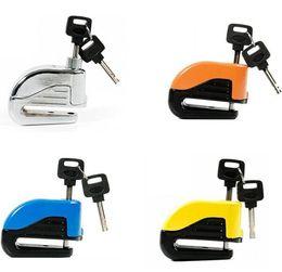 Bicycle Bike Motorcycle Lock Australia - Motorcycle Bike Alarm locks Mini Bicycle Alarm Lock Disc Brakes Bike Mountain Fixed Anti Theft Security with keys GGA1777
