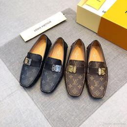 $enCountryForm.capitalKeyWord Australia - New! 27 model Masorini Men Formal Wedding Shoes Luxury Men Business Dress Shoes Loafers Pointy Big Size 38-48