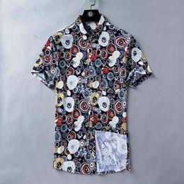 Fashion Abstract T Shirt NZ - Men's Shirt Short Sleeve Abstract Circle Full Body Print Fashion Trends Summer Essential T-Shirt Seaside holiday