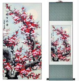 $enCountryForm.capitalKeyWord Australia - Super Quality Traditional Chinese silk scroll Art Painting Home Office Decoration Paintingprinted Painting