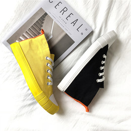 $enCountryForm.capitalKeyWord Australia - Ulzzang shoes spring and summer boys tide shoes high canvas shoes Korean version of the wild students in the hs21