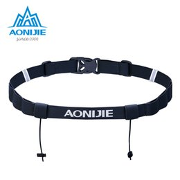 Motor belts online shopping - AONIJIE Unisex E4076 E4085 Running Race Number Belt Waist Pack Bib Holder For Triathlon Marathon Cycling Motor with Gel Loops
