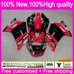 blk red NZ - Bodywork For KAWASAKI ZZR250R ZZR-250 ZZR250 90 91 92 93 94 99 75HM.3 ZZR 250 1990 1991 1992 1993 1994 1999 Full Stock red blk Fairings kit