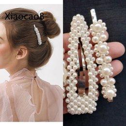 4 Стиль Мода Shell Жемчужные Заколки для волос для Женщин Из Нержавеющей Стали Stick Шпилька Модные Девушки Укладка Аксессуары для Оптовой Продажи