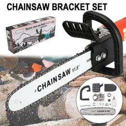 $enCountryForm.capitalKeyWord Australia - BDCAT 11.5 12 Inch Chainsaw Bracket Changed 100 125 150 Electric Angle Grinder M10 M14 Into Chain Saw Woodworking Power Tool Set