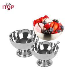 $enCountryForm.capitalKeyWord Australia - Ice Cream Cup 9cm 10cm Stainless Steel Ice Cream Cup Small Dessert Sorbet Bowl Cake Cup Kitachen Aceesoories