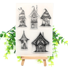 $enCountryForm.capitalKeyWord Australia - crapbooking Stamping Stamps YPP CRAFT Elf house Transparent Clear Silicone Stamps for DIY Scrapbooking Card Making Kids Crafts Fun Decora...