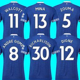 ff928db2d Thailand MINA ANDRE GOMEZ EVERTON soccer jersey 2018 2019 ZOUMA DIGNE  RICHARLISON WALCOTT Ever jersey 18 19 football kit top shirt