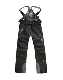 Warm Waterproof Pants Men Australia - Outdoor Men Ski Pants Winter Profession Snowboard Pants Waterproof Windproof Snow Trousers Breathable Warm Ski Clothes