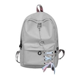 Womens Backpacks Zippers NZ - Fashion big capacity shopping bag laptop backpack rucksack canvas bags student womens school Bags