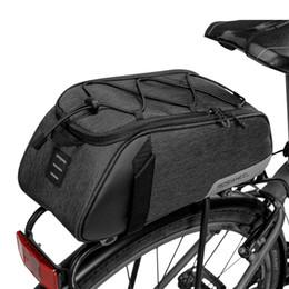 Bicycle Rear Carriers Australia - ROSWHEEL 141465 Mountain Road Bike Bicycle Cycling Rear Seat Rack Trunk Bag Pack Pannier Carrier Shoulder Bag Handbag #317737
