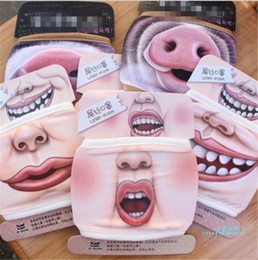 pig face masks Australia - Creative Funny Pig Printing Face Mask Unisex Cotton Summer Sunproof Outdoor Dustproof Cycling Washable Mouth Cover Masks Party Mask D42701