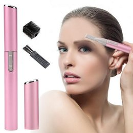 lady shaver razor UK - Women Ladies Body Shaver Razor Epilator Mini Portable Electric Eyebrow Trimmer Hair Remove For Bikini Underarm Leg