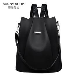 $enCountryForm.capitalKeyWord NZ - Casual Korean Style Oxford Backpack Female Anti Theft Women Bagpack Fashion Waterproof Light Weight School Bag Adolescent Girls Y19061102