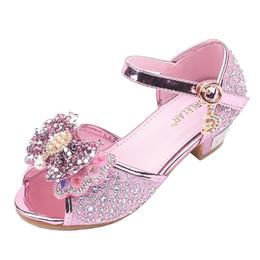 $enCountryForm.capitalKeyWord UK - Children Girls Shoes Girls Butterfly-Knot Crystal Shoes Princess Sandals Buty Dla Niemowlaka Baby Schoentjes Meisje*