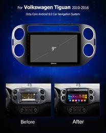 Ingrosso Ownice Autoradio DVD GPS Navi k3 k5 k6 per VW Tiguan 2010 2011 2012 2013 2014 2015 2016 Android 9.0 8core 4G DSP 360 Panorama SPDIF