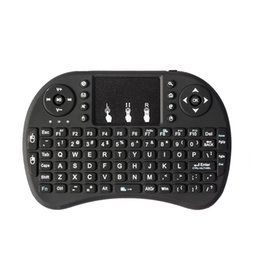 $enCountryForm.capitalKeyWord Australia - I8 2.4Ghz Wireless Mini Qwerty Keyboard Mouse Touchpad With Receiver For Pc Smart Tv Ps4 Htpc