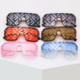 Sand SunglaSSeS online shopping - FF designer sunglasses colors Fashion Letter sun glasses Brand Large Frame sunglasses Sea Beach Sand proof Sunglass JY773