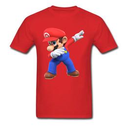 Discount super mario clothing - mens designer clothes brand polo Men T-Shirts 3D Tshirt Super Mario Bros T Shirt Funny Dabbing Mario Printed Clothes Sum
