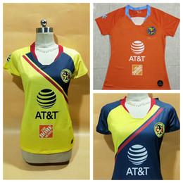 adde770c511 New 2018 2019 club america women Soccer Jersey 18 19 Liga MX 3rd best  quality female football shirts S-XL
