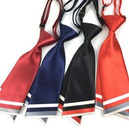 $enCountryForm.capitalKeyWord Australia - Professional small tie short necktie lady collar flower polyester business neckwear double student bow tie 2pcs lot