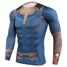 Jerseys Wolf Australia - Mens Compression Shirts 3D Teen Wolf Jerseys Long Sleeve T Shirt Fitness Men Lycra MMA Crossfit T-Shirts Tights Brand Clothing C17