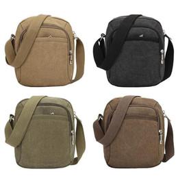 Genuine Leather Crossbody Handbags Wholesale Australia - Fashion Men Shoulder Crossbody Bag Canvas Mens Handbag Casual Travel Crossbody Bags Designers Brand Messenger Mens Bags Nice