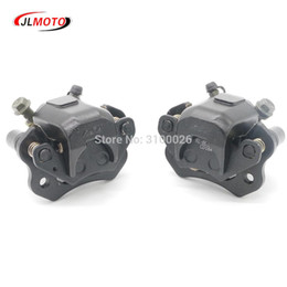 Wholesale 1Pair Left Right Brake Caliper Fit For Taotao Sunl cc cc cc w Electric Quad ATV UTV Go kart Buggy Scooter Parts