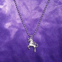 $enCountryForm.capitalKeyWord Australia - Omi HipHop retro unicorn ball collarbone chain short necklace earth cool necklace