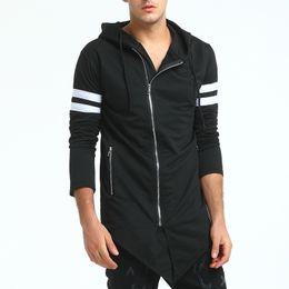 $enCountryForm.capitalKeyWord Australia - Brand 2019 Hoodie Irregular Zipper Cardigan Men Fashion Tracksuit Male Sweatshirt Hoody Mens Purpose Tour Hoodie Xxxl