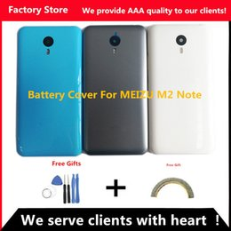 $enCountryForm.capitalKeyWord Australia - Q&Y QYJOY 5.5 inch Battery Back Cover For Meizu M2 Note Battery Cover Door case housing replacement, Camera Lens+