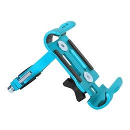 Evrensel Alüminyum Alaşım Bisiklet Telefon Tutucu 3.5-6.5 Inç Smartphone Bisiklet Destek Kaymaz Dağı Mobil Navigasyon Braketi