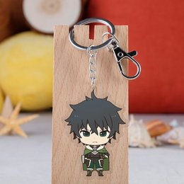 cute japanese anime figure Australia - Tate no Yuusha no Nariagari Raphtalia Fillo Acrylic Figure Keychain Japanese Anime Pendants Collection Cute Key rings