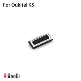 Speaker Ear Australia - AiBaoQi New Original Oukitel K5 speaker receiver Front Ear Earpiece Repair Accessories For Oukitel K5 Phone