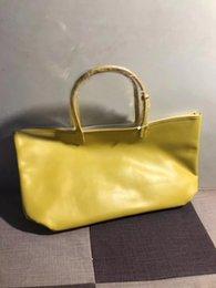 Großhandel Neue Mode Einkaufstasche Vintage Classic Handtasche Top Qualität Goy Taschen Brief drucken echte Leder PVC-Material Handtaschen Double Tote