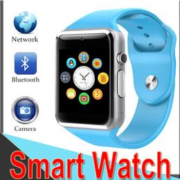 69f3da7b7c4f SmartWatch A1 Bluetooth Wearable Technology Reloj de pulsera Sport  Podómetro Llamadas con SIM Cámara Reloj inteligente para Android Teléfono  inteligente ...