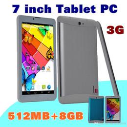 """$enCountryForm.capitalKeyWord Australia - 10X DHL 7 inch 7"""" 3G Phablet Android 4.4 MTK6572 Dual Core 8GB 512MB Dual SIM GPS Phone Call WIFI Tablet PC Bluetooth B-7PB"""