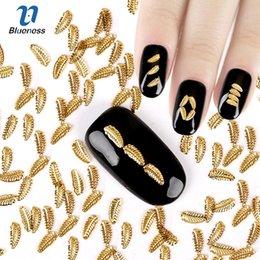 $enCountryForm.capitalKeyWord Australia - d nail art decoration About 1000Pcs Lot Glitter Tree Leaves Design 3D Nail Art Decoration Gold Color Copper Charms Rivet Accessories For ...